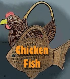whicker chicken fish